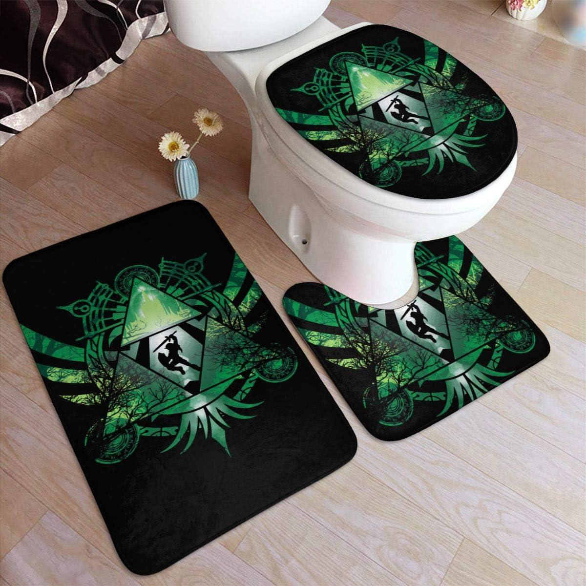 Amazon.com: SoContrerasnny The Legend of Zelda Bathroom Rug 9