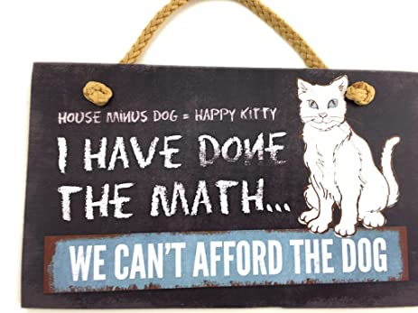 Amazon Highland Graphics Cat Sayings Wall Art Signs HOUSE MINUS