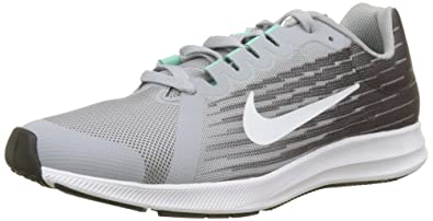official photos 1e237 2a5fc Nike Downshifter 8 (GS), Chaussures de Running garçon, Gris (Wolf White