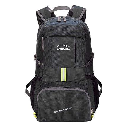 c82730d2266e Amazon.com : Wozaba Outdoor Foldable Hiking Backpack, 35L ...