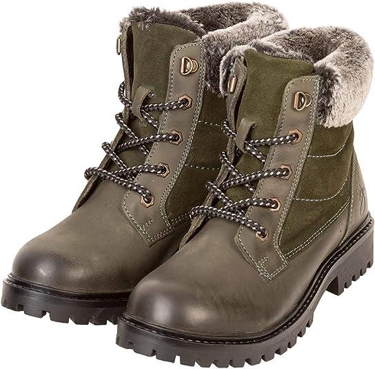 Ladies Leather Kilburn Ankle Boots