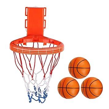 Niños baño Juguete Baloncesto aro Bolas 2 en 1 diseño Jugar Set 3 ...