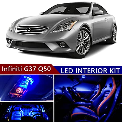 Amazon Infiniti G37 Q50 2013 2015 Led Premium Blue Light