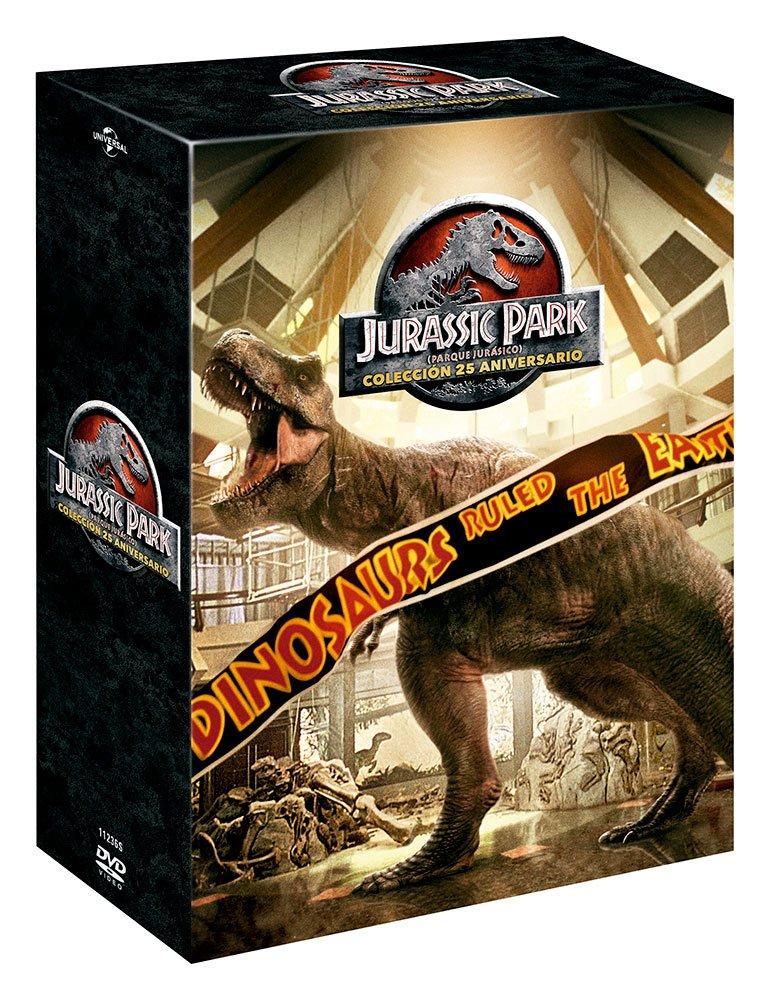 Pack: Parque Jurásico 1-4 - Edición 2018 [DVD]: Amazon.es: Sam Neill ...