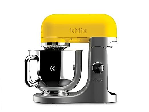 667 opinioni per Kenwood Linea kMix KMX50YW Kitchen Machine con Ciotola in Acciaio, Giallo