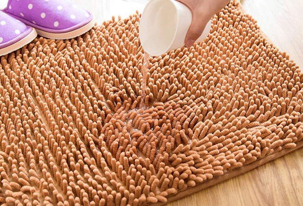 camera da letto arancio cucina Tappeti bagno antiscivolo super acqua assorbe rettangolo tappetini da bagno per soggiorno