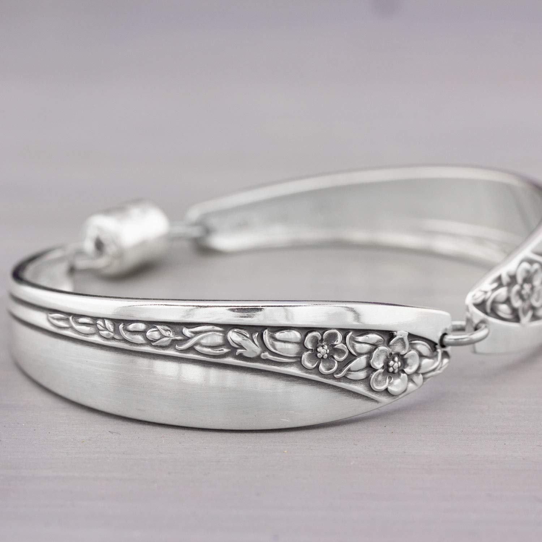 Starlight Rose aka Queen Mary Silverware Bracelet 1953