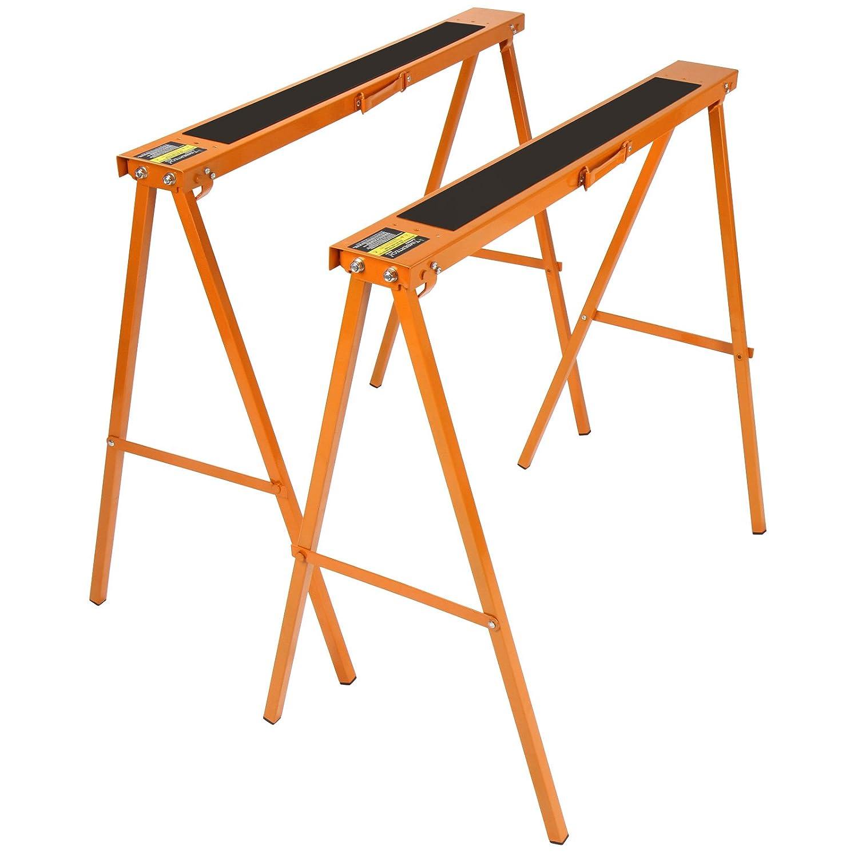 Jago - Set de 2 tré teaux - pour atelier - charge maximale 125 kg