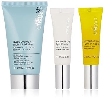 SkinChemists Advanced Repair Set, 80 Gram. (3 Pack) MEDIHEAL N.M.F Aquaring Ampoule Mask