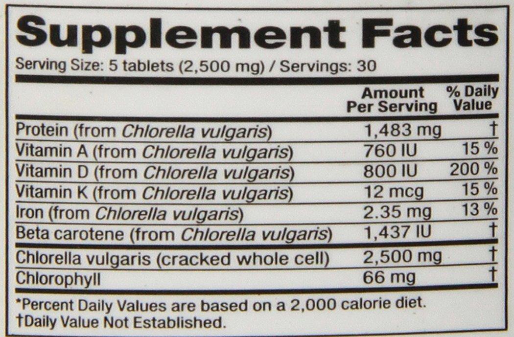 chlorella vitamine d
