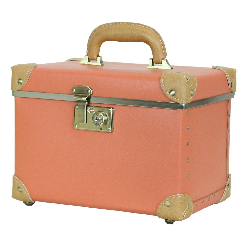 MOIERG(モアエルグ) バニティ ボックス コスメ メイク メイクボックス ケース B074855RFQ M|オレンジ オレンジ M