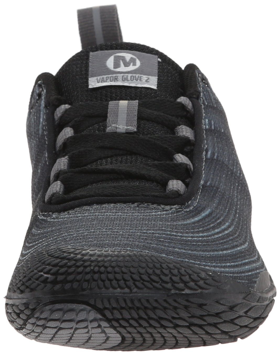 Merrell Women's Vapor Glove 2 Barefoot Trail Running Shoe B00RDL3W5Y 8.5 B(M) US|Black/Castle Rock