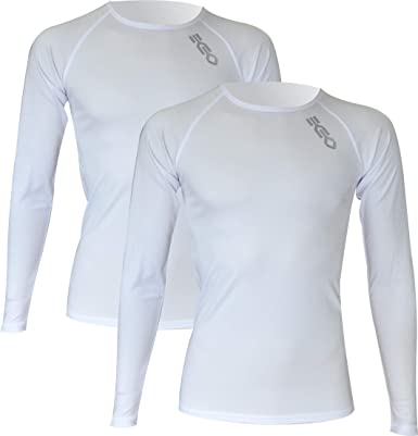 Pack x2ud Camiseta Interior Deportiva EKEKO WARMRACE JHKACTIVE. Camiseta Interior de Manga Larga .Poliester termoactive.: Amazon.es: Ropa y accesorios