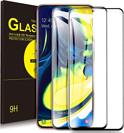 Yocktec Cristal Templado para Samsung Galaxy A80, [Dureza 9H ...