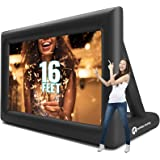 Holiday Styling: Outdoor Projector Screen – Outdoor Movie Screen - TV Projection Screen - Inflatable Portable Projector…