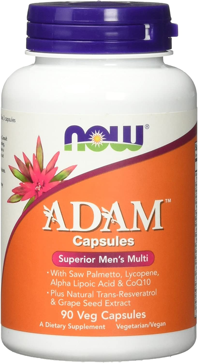 NOW Foods ADAM Multi-Vitamin for Men - 90 Cápsulas