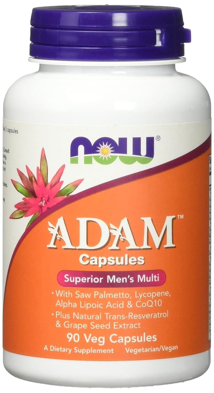 Now Foods, Adams Superiores Multivitamínico de los Hombres, x90Vcaps: Amazon.es: Salud y cuidado personal