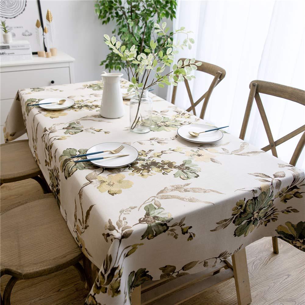 田園風テーブルクロスのテーブルクロスとテーブルクロスのテーブルクロス(130*130cm) 130*130cm  B07RWVF3C9