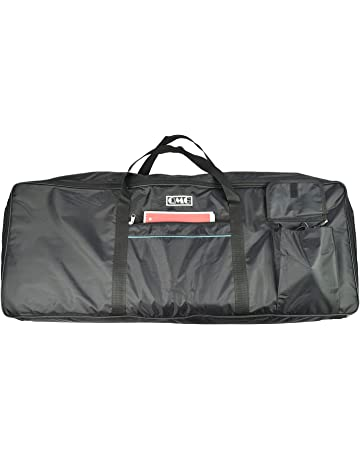 4ffbeac23c Electric Piano Portable Padded Gig Bag/Case for 61 Key Keyboard with Extra  Large Pockets
