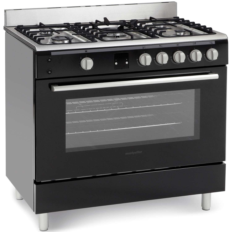 Range Cooker montpellier mr90gok single cavity gas range cooker in black amazon