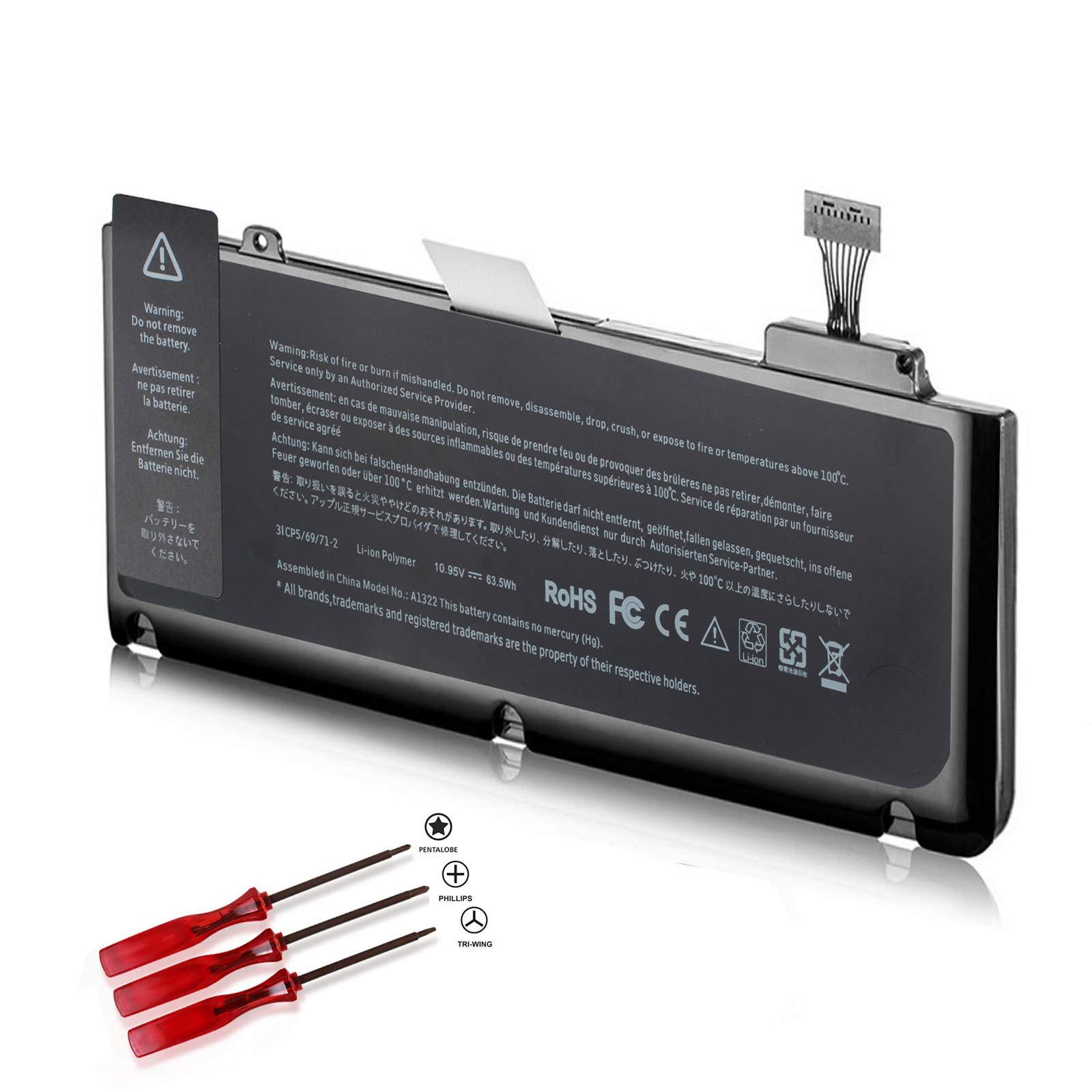 Bateria Tcore A1322 A1278 Macbook Pro 13 Mid 2012 2010 2009