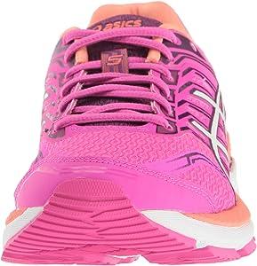 ASICS Womens GT-2000 5 Running Shoe, Pink Glow/White/Dark Purple, 6 M US: Asics: Amazon.es: Zapatos y complementos