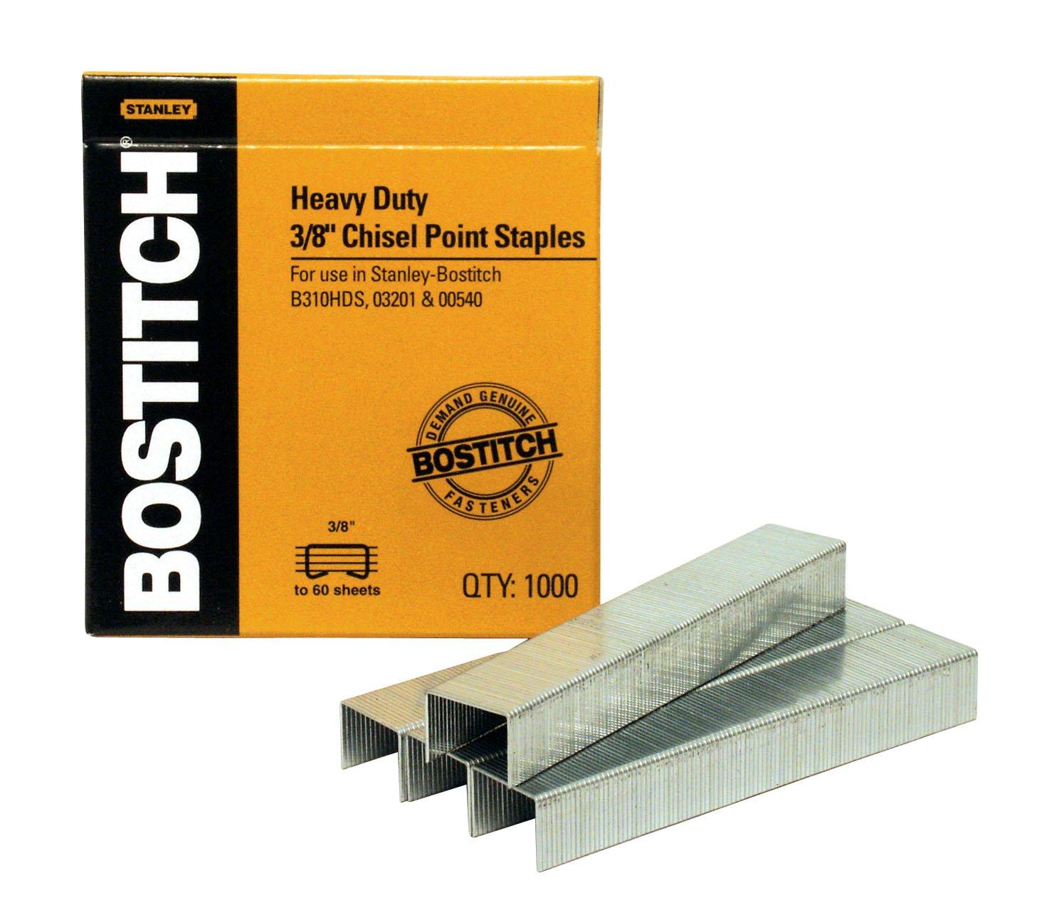 Amazon.com: Bostitch SB351/2-1M Heavy Duty Premium Staples,: Office Products