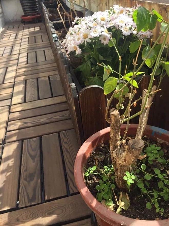 Suelo de madera anticorrosivo, balcón, para exteriores, terraza ...