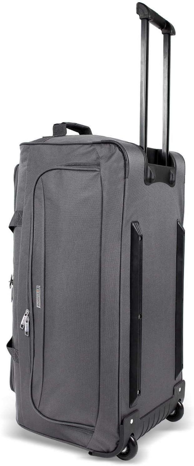 90 litres Grand Volume Valise Poign/ée t/élescopique Travel Bag noorsk/® XL Sac de Voyage /à roulettes