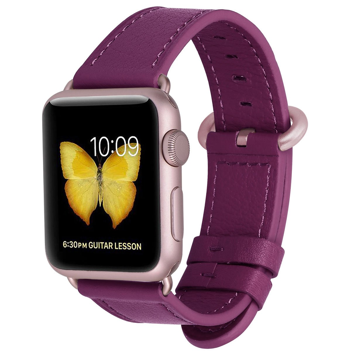 Malla Cuero para Apple Watch (38/40mm) PEAK ZHANG [7JLN437X]