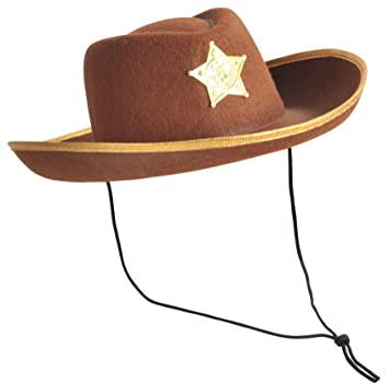 Happy Boys - Sombrero para disfraz de vaquero (cowboy) para niño ... c76f204e252