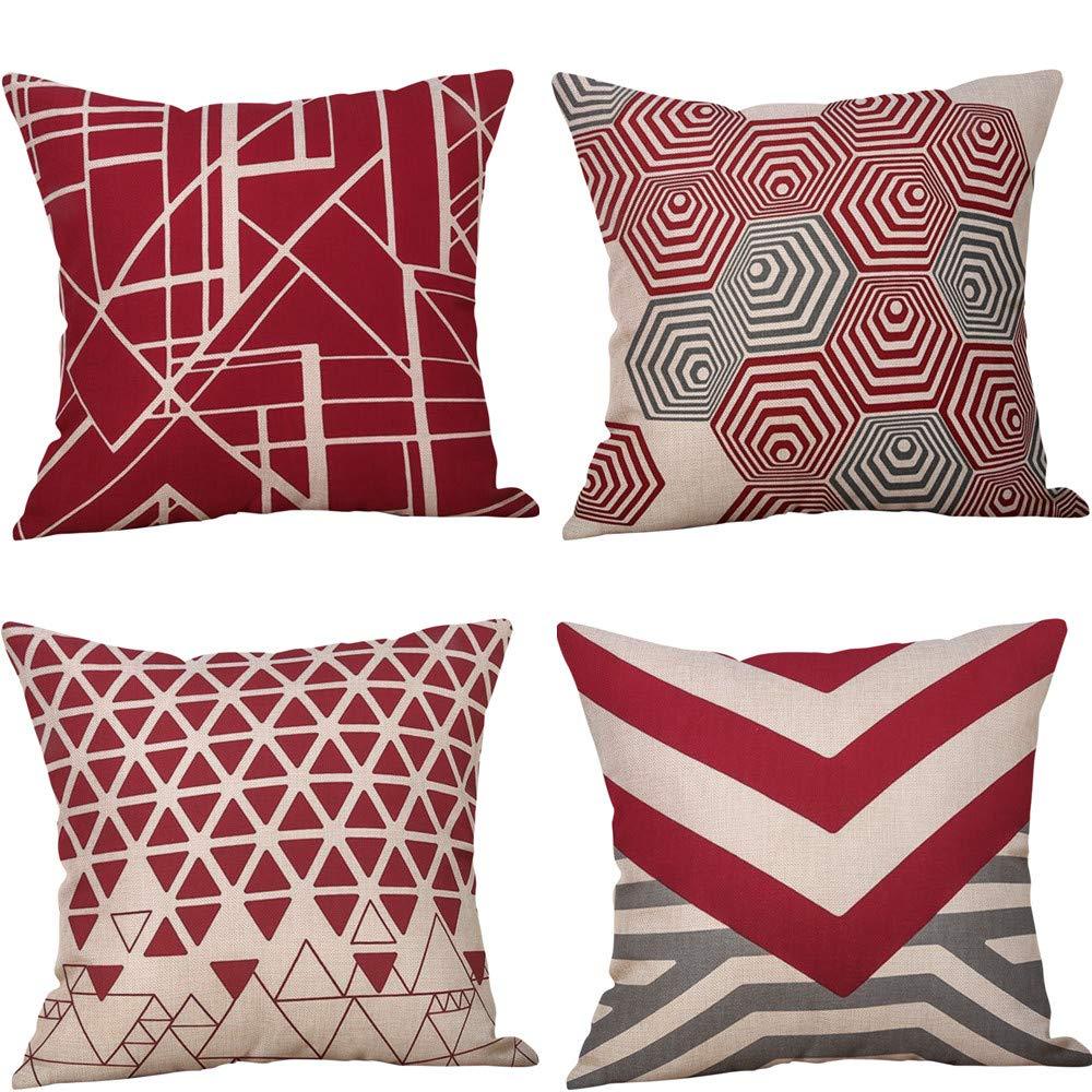Xmansky impresión de Moda hogar Decorativo Suave sofá cómodo ...