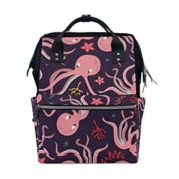 9c46bdb8a1cd Amazon.com : MAPOLO Underwater Ocean Animal Octopus Starfish Diaper ...