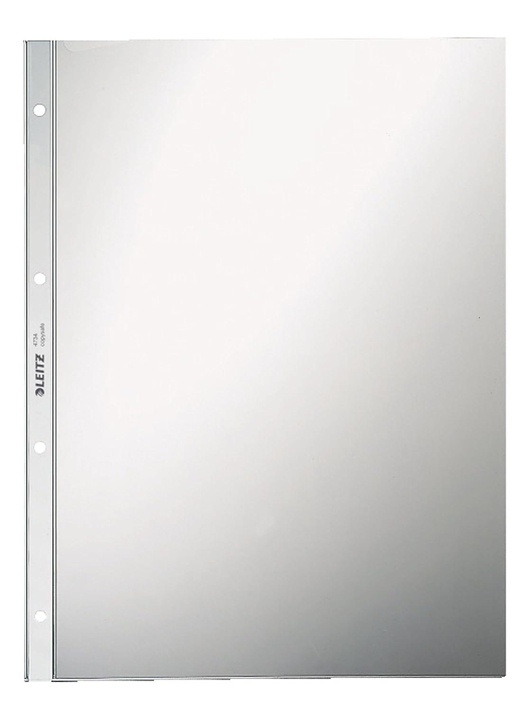 LEITZ Prospekthülle Super Premium, A4, PVC, glasklar, 0,08mm Esselte Leitz 47343000