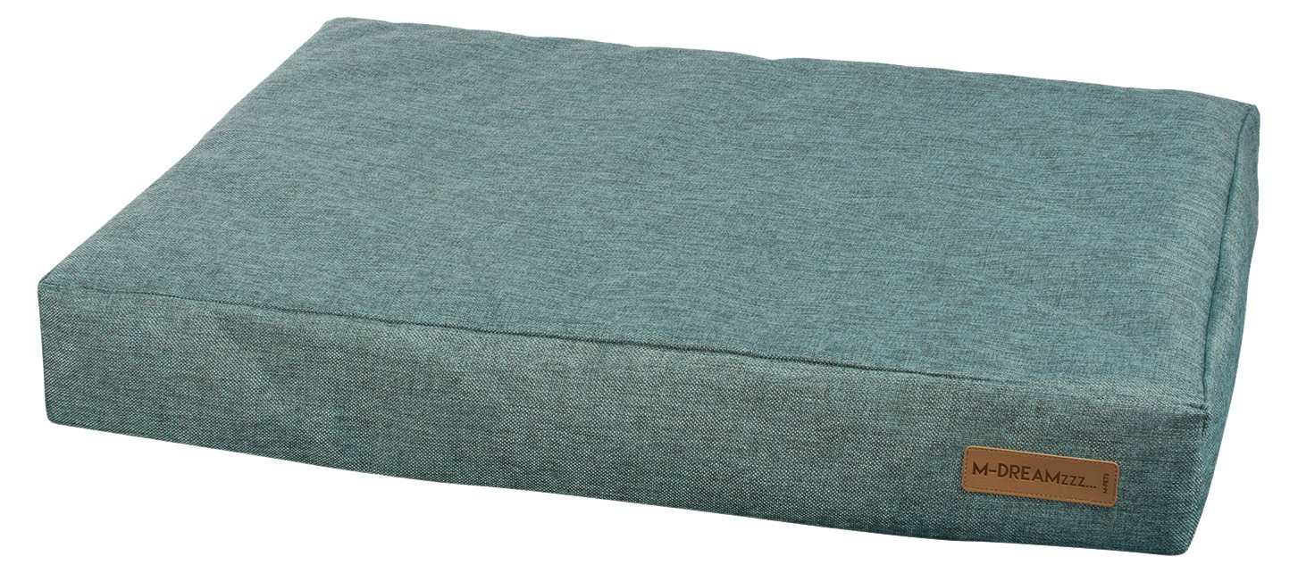 bluee 43-Inch bluee 43-Inch M-Pets bluee Orthopedic Mattress Pet Bed for Dogs or Cats, 43-inch