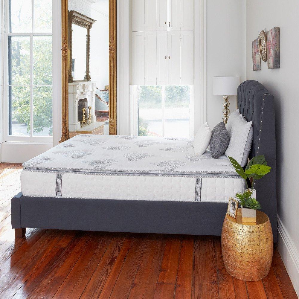 Queen Size Mattress 12 Inch Pillow Top Cool Gel Memory