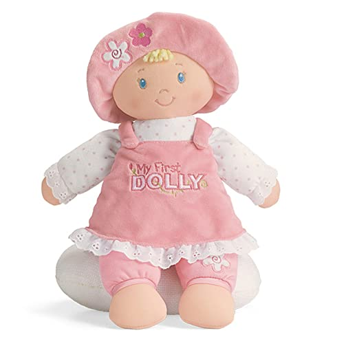 GUND My First Dolly Stuffed Plush Blonde Doll 12