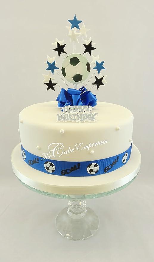 The Cake Emporium Ltd - Cinta de fútbol para decoración de ...
