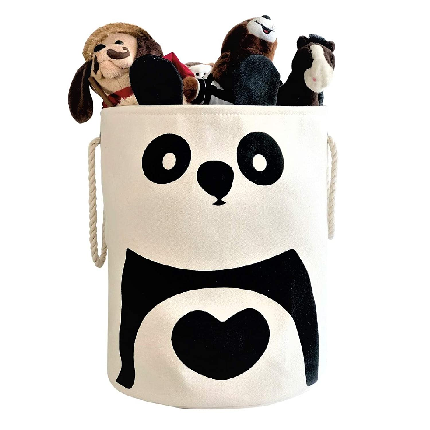 Gift Specialist | Baby Clothes Hamper, Panda Bear Nursery Hamper, Collapsible Laundry Basket, Toy Bins for Kids, Baby Hamper, Foldable Laundry Hamper, Bedroom, Nursery, Baby Baskets, Gift Baskets