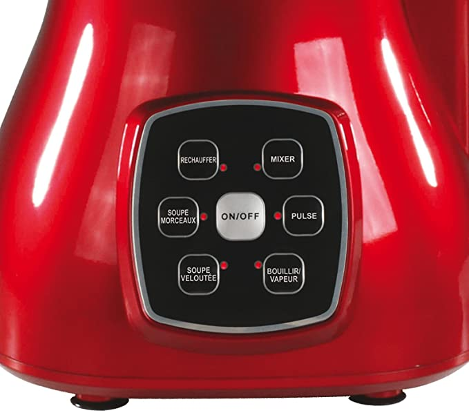 6053 Robot mixeur chaud//froid avec 6 programmes /écran tactile 1,7 l