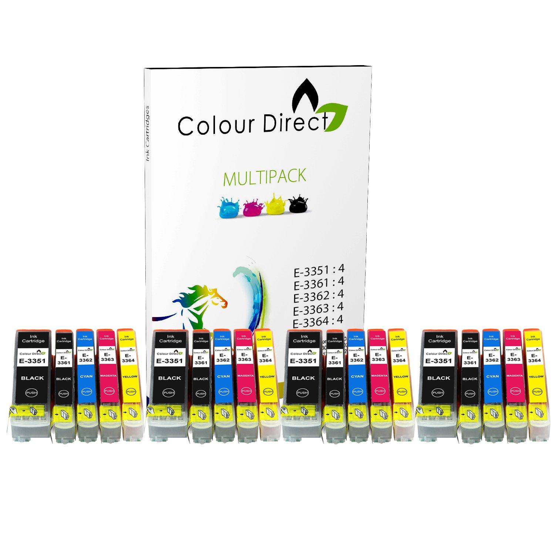 Colour Direct - 4 Conjuntos - 33XL Compatible Cartuchos de tinta ...