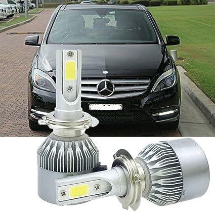 Amazon com: H7 LED Headlight Conversion Kit for Mercedes