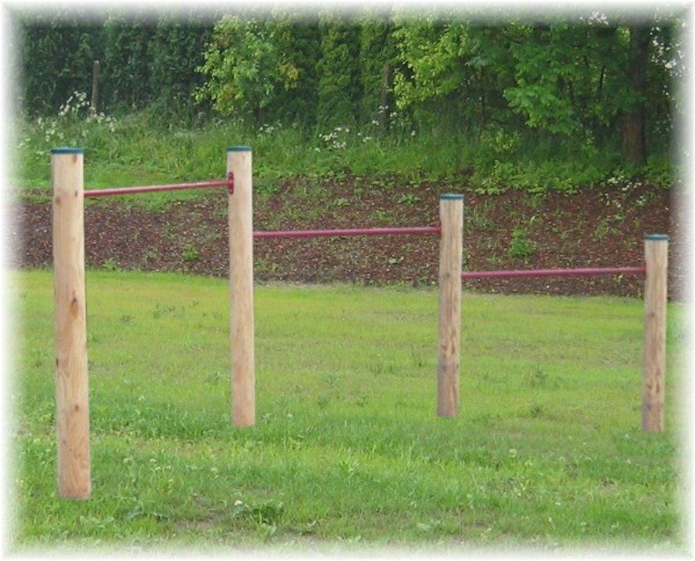 Loggyland Klettergerüst : Loggyland klettergerüst turnreck doppelreck turnstange reckstange