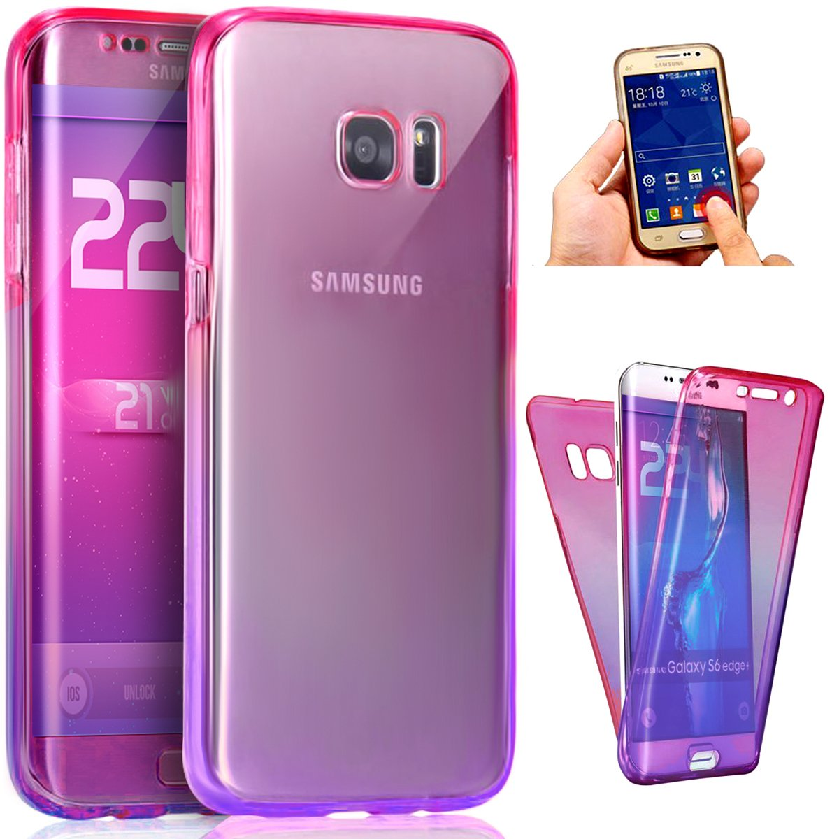 6d35ae36a Top 10 Best Cool Samsung Galaxy S6   S6 Edge Cases and Covers 2018 ...