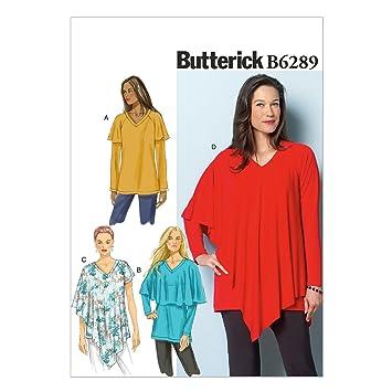 Butterick Schnittmuster 6289 ZZ Größen groß – 2 x Große ...