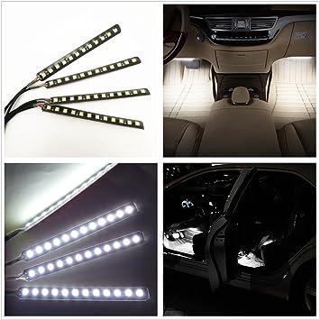 Amazon Com Car Interior Lights Ej S Super Car 4pcs 36 Led Dc 12v