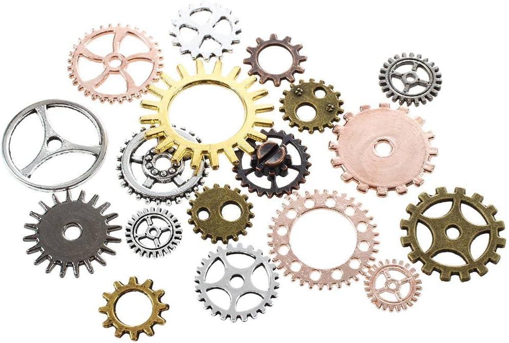TOOGOO Steampunk DIY Uhr Reparatur Teile Gears Schmuck Kunsthandwerk Kunst Zahnraeder Raeder