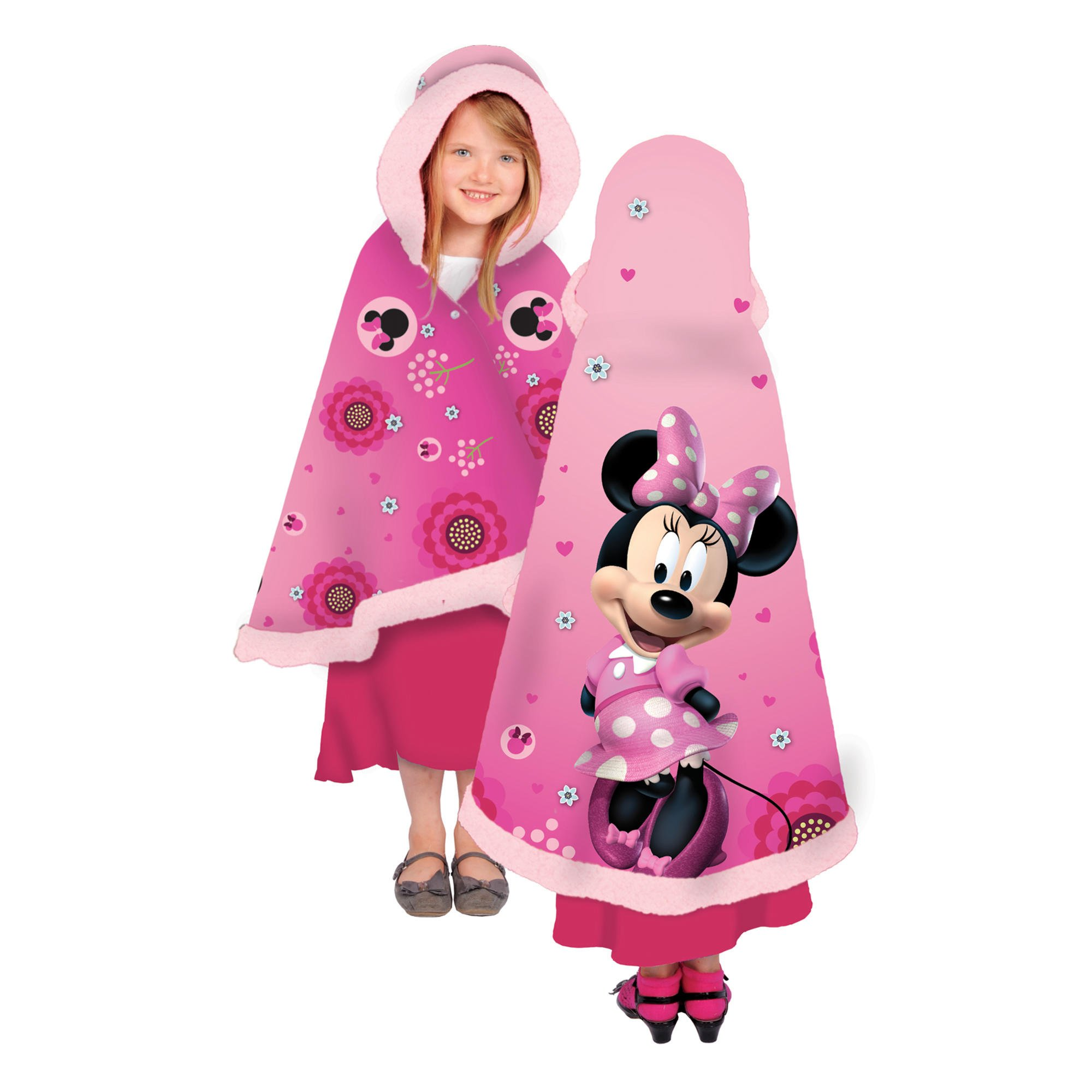 Disney Minnie Love Snuggle Wrap