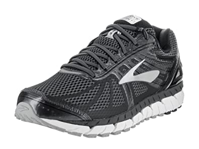 df444fef6bf Image Unavailable. Image not available for. Colour  Brooks Men s Beast  16 Wide  Anthracite Black Silver Running Shoe ...