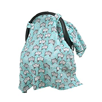 Multi-Use Infant Cover Baby Kid Cart Car Seat Canopy Breastfeeding Scarf